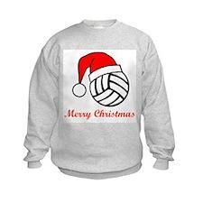 VolleyChick Merry Christmas Kids Sweatshirt