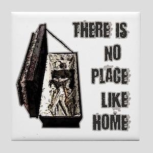 Vampire Home Tile Coaster