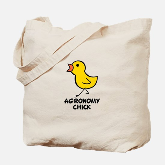 Agronomy Chick Tote Bag