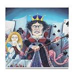 Queen of Hearts Tile Coaster