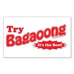 Try Bagaoong Rectangle Sticker