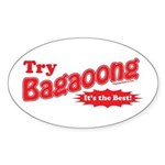 Try Bagaoong Oval Sticker