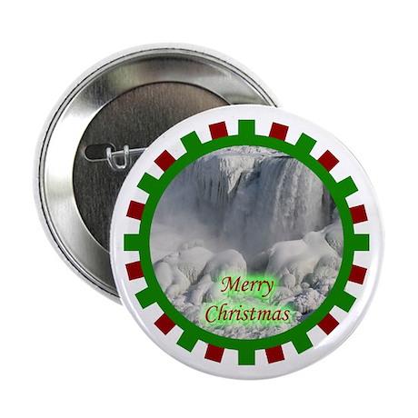 "Niagara Falls Christmas 2.25"" Button (100 pack)"