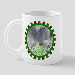 Niagara Falls Christmas Mug