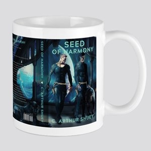 Seed of Harmony Book Cover Design Mugs