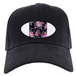 Rose Bouquets on a Black Background Baseball Hat