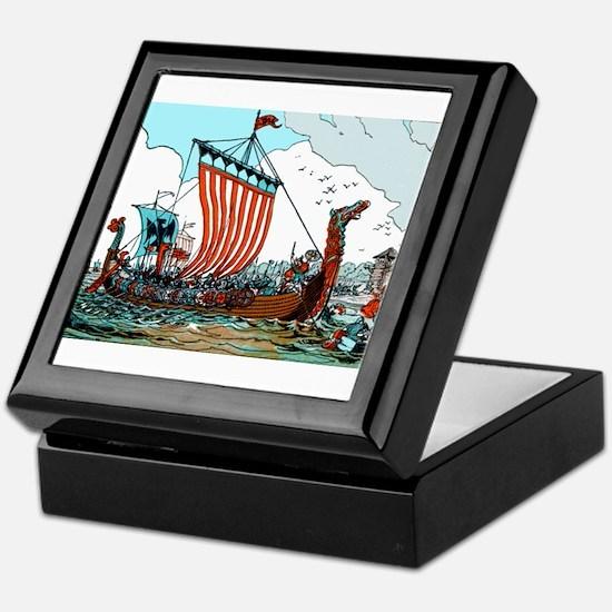 Viking Raid Keepsake Box