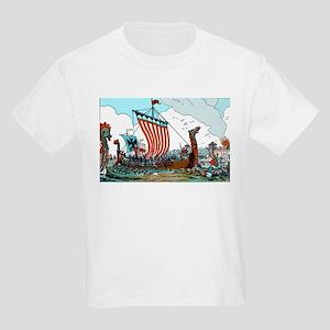 Viking Raid Kids T-Shirt