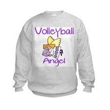 VolleyChick Angel Kids Sweatshirt
