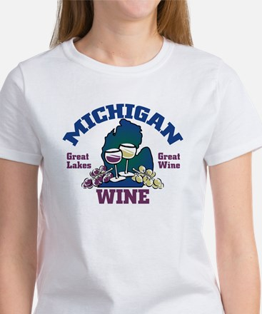 Michigan Wine Women's T-Shirt