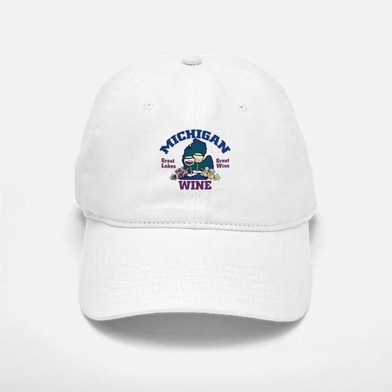 Michigan Wine Baseball Baseball Cap