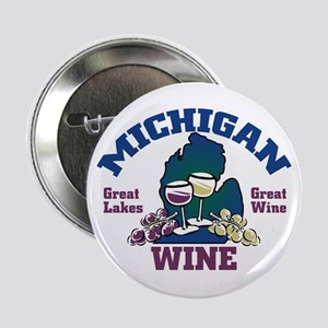 Michigan Wine Button