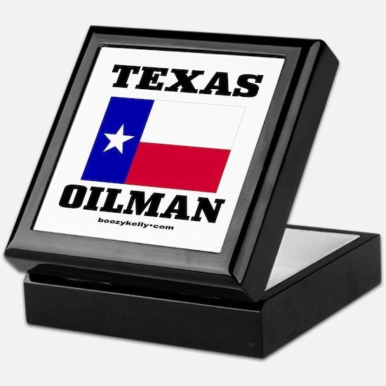 Texas Oilman Keepsake Box