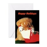 Toller Puppy Christmas Cards (Pk of 10)