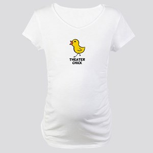 Theater Chick Maternity T-Shirt