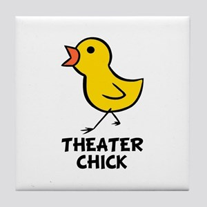 Theater Chick Tile Coaster