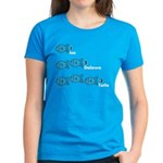 Counting in Tagalog Women's Dark T-Shirt