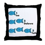 Counting in Tagalog Throw Pillow
