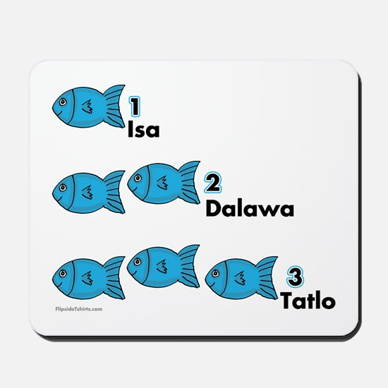 Counting in Tagalog Mousepad