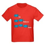 Counting in Tagalog Kids Dark T-Shirt