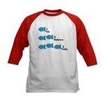 Counting in Tagalog Kids Baseball Jersey