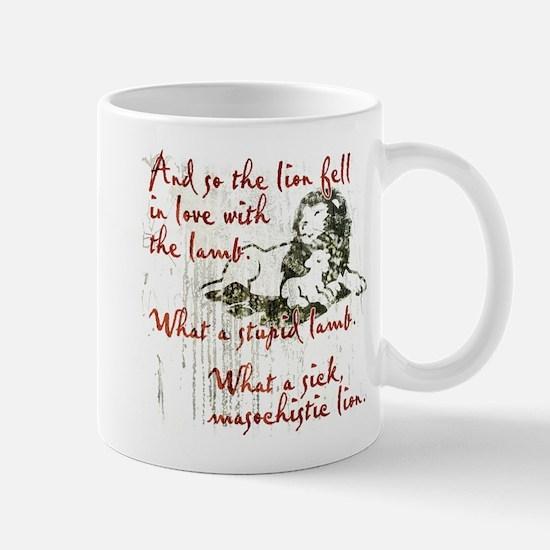 Lion Loves Lamb Mug