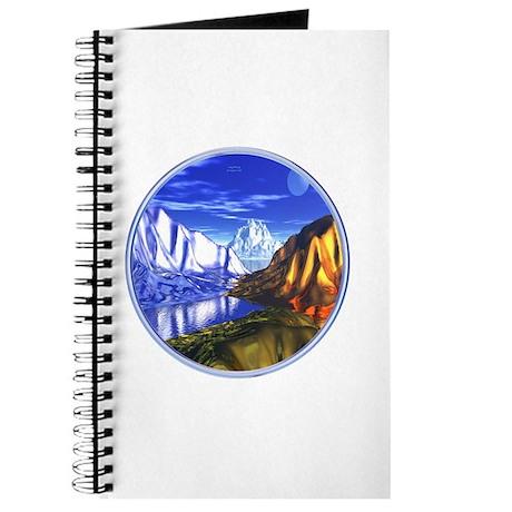 3D Metal Mountains Journal