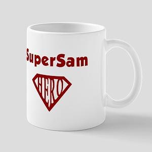 Super Hero Sam Mug
