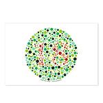 Color Blind Postcards (Package of 8)