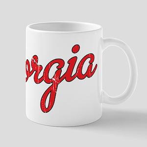 Georgia-01 Vintage Mugs