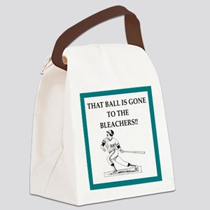 home run Canvas Lunch Bag
