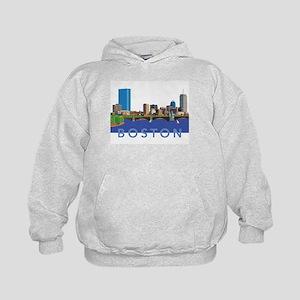 Cool Crisp Illustration of the Back Bay Sweatshirt