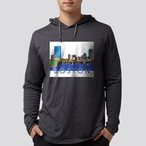 Cool Crisp Illustration of the Long Sleeve T-Shirt
