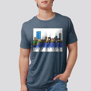 Cool Crisp Illustration of the Back Bay sk T-Shirt