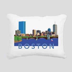 Cool Crisp Illustration Rectangular Canvas Pillow