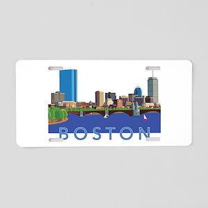 Cool Crisp Illustration of Aluminum License Plate