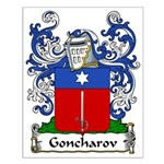 Goncharov Family Crest Small Poster