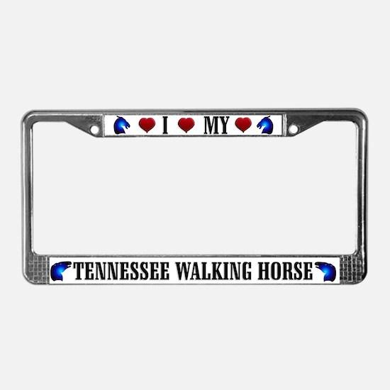 Tennesse Walker License Plate Frame