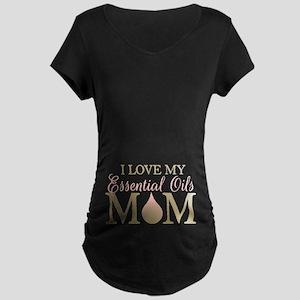 I love my EO mom Maternity Dark T-Shirt