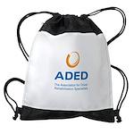ADED Logo Drawstring Bag