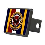 Veteran Proud To Serve Rectangular Hitch Cover
