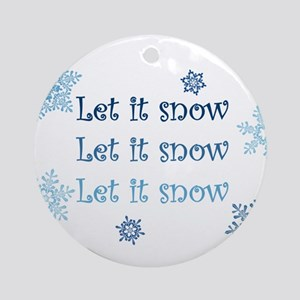 Winter Ornament (Round)