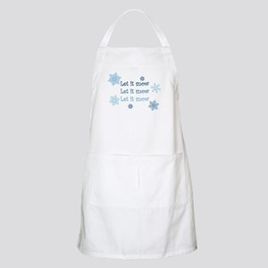 Winter BBQ Apron