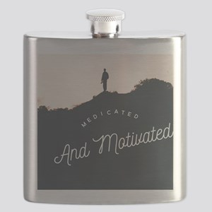 Medicated and Motivated long Flask