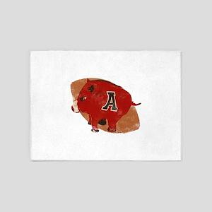 Arkansas Razorback Football Gifts and Apparel 5'x7