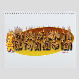 Hell Wall Calendar
