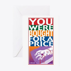 Bought For A Price Greeting Card