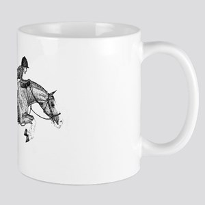 Hunter Pony Art Mug