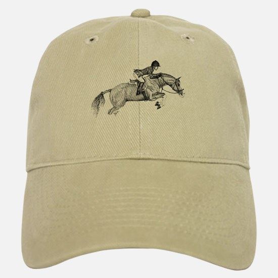 Hunter Pony Art Baseball Baseball Cap