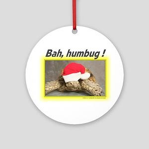 Tortoise Humbug Ornament (Round)